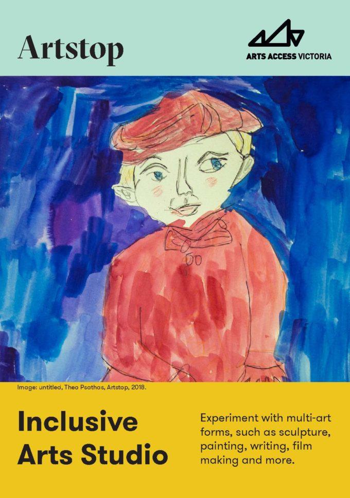 Artstop flyer cover.