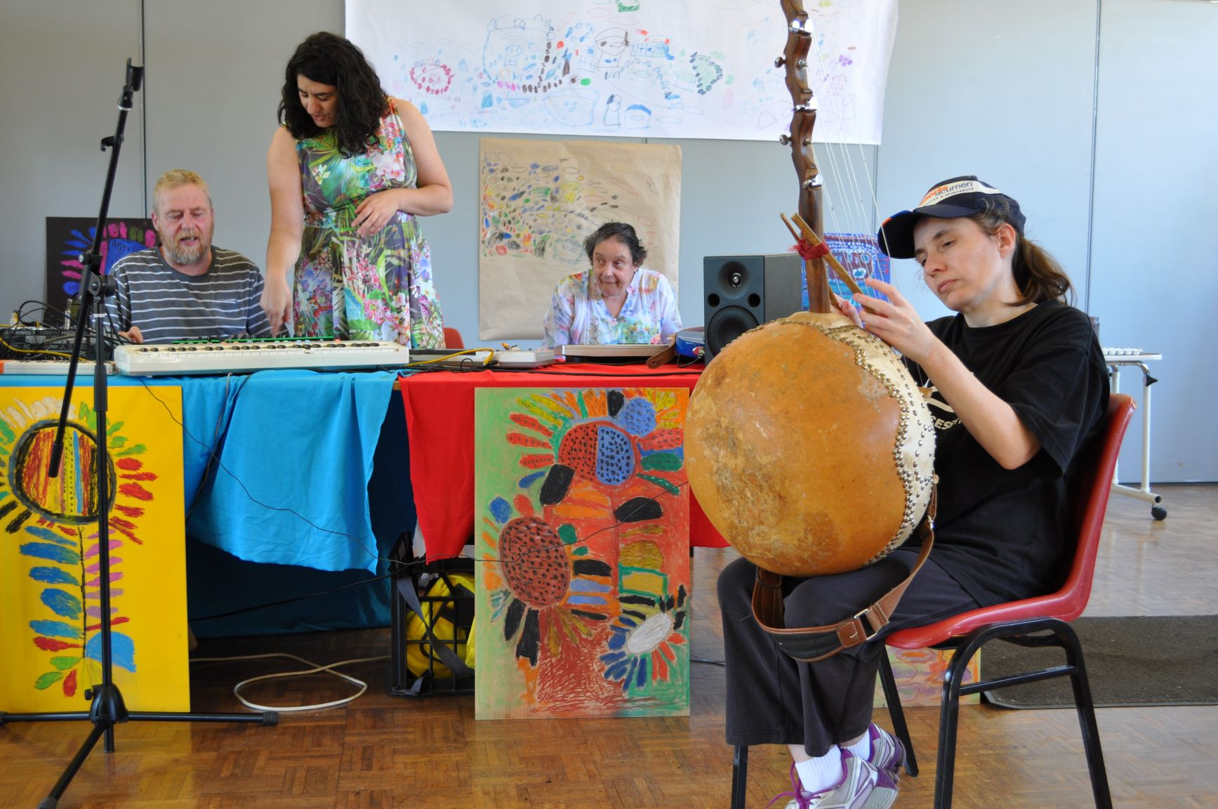 Art Day South music Workshop