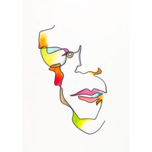Abstract portrait of Ewelina