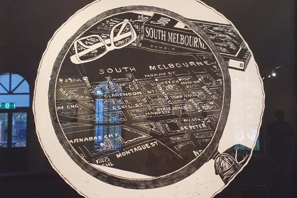 South Melbourne Historical Map